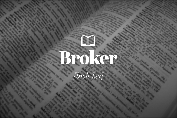 <p>What is a Broker?</p>