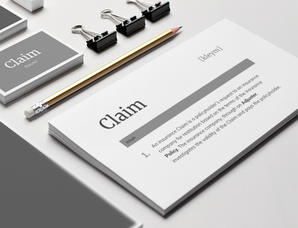 <p>What is a Claim?</p>