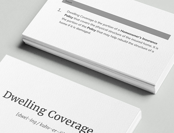 <p>What is Dwelling Coverage?</p>