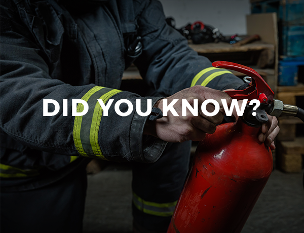 Did You Know This Fact About Fire Extinguishers?