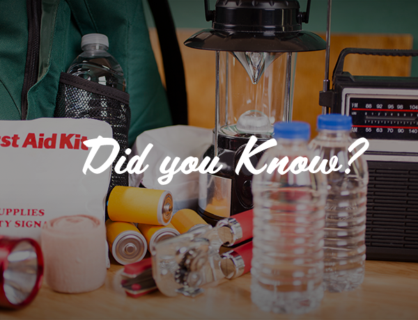 Did You Know This Fact About Emergency Preparedness?