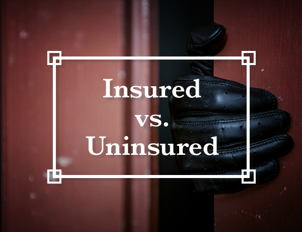 Side-by-Side: Insured vs. Uninsured