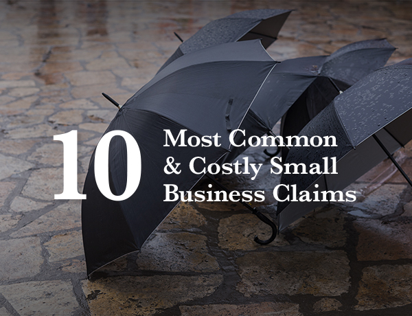 <p>10 Most Common and Costly Small Business Claims</p>