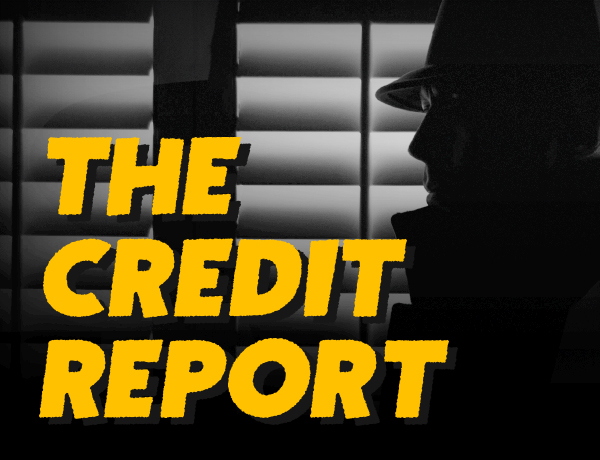 <p>The Case of the Crooked Credit Report</p>