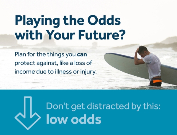 <p>Infographic: Playing the Odds With Your Future?</p>