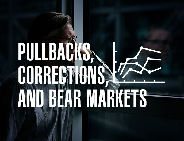 <p>Pullbacks, Corrections, and Bear Markets</p>