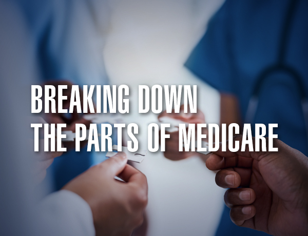 <p>Breaking Down the Parts of Medicare</p>