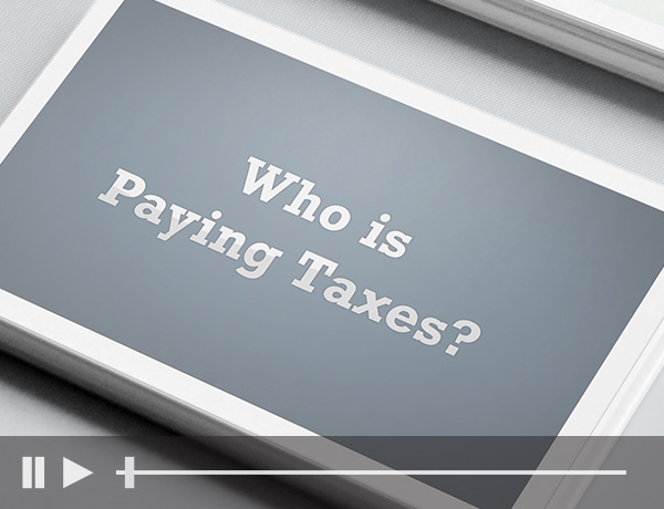 Who is Paying Taxes?